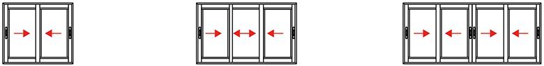 B2 Cerramientos apertura-corredera-pvc